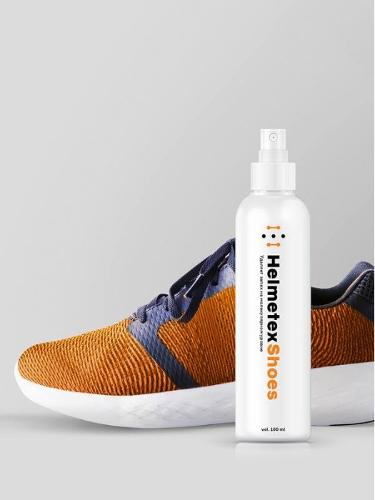 Shoe Deodorizer Odor Eliminator Spray HELMETEX SHOES