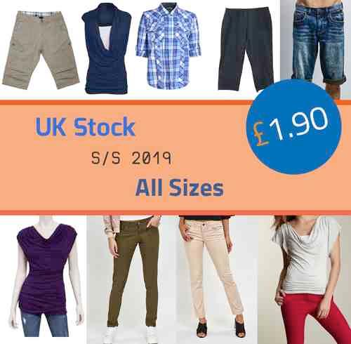 Mens & Ladies SPRING/SUMMER clothing CONTAINER OFFER UK