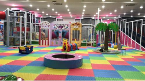 new line indoor children playground equipment