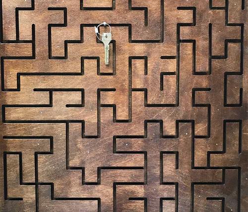 """Wooden maze (""""ways"""")"""