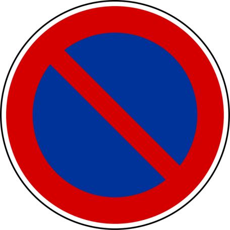 Panneaux B6a1, B6a2, B6a3 Stationnement Interdit Ou Réglementé (copier)