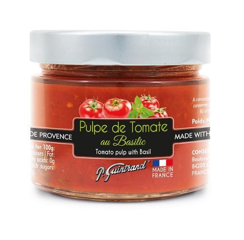 Pulpe de tomate au basilic