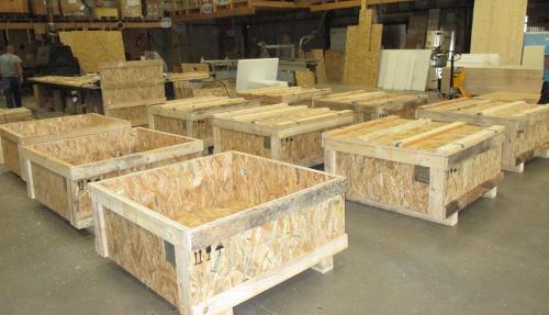 Conception & fabrication de caisse en bois sur mesure