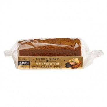 Pain d'épices toast aux Noix de Cajou à la Truffe et Miel à