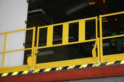 Sicherheits-Schleusengeländer Typ A / Palettenschleuse Typ A