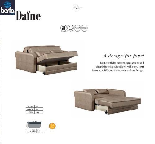 Sovekabine sofa Dafne
