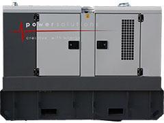 Generator 66 kVA - Technische Fiche
