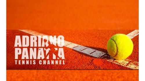Adriano Panatta tennis channel