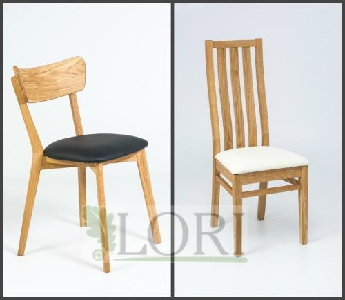 OAK DINING  / BAR CHAIRS