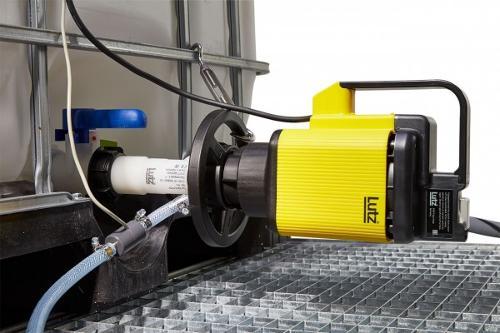 Pump set horizontal container pump B200