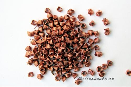 Spiral Prismatic Packing (SPP); Material: Copper; 1 liter