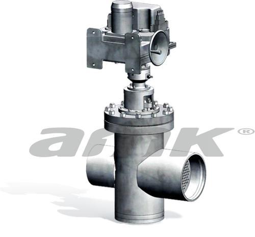 Дисковый регулирующий клапан LRV