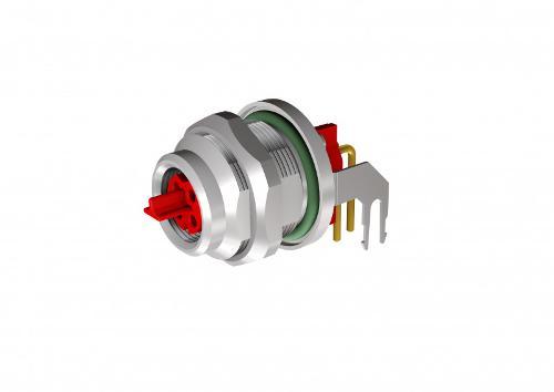 M8x1 Sockets/Insulation body EtherCAT P