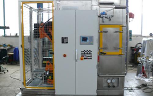 Kabinen - Wasch - Endgratanlage für AGW - Module