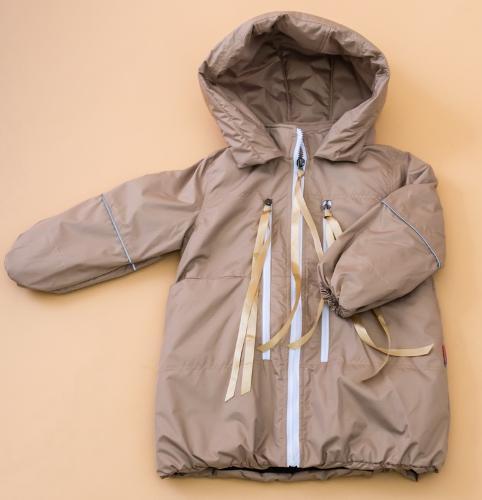 Пальто на девочку из мембранной ткани