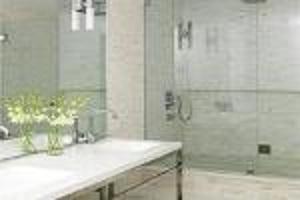 Vidrio de cuarto de baño