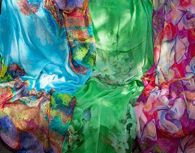 Fulares y pañuelos de seda Julunggul