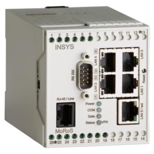 MoRoS ISDN ISDN Modem, Switch, Router, VPN, Full-NAT