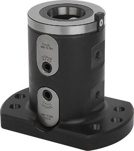 Module de base double 5 axes UNI lock à pas de 80 mm