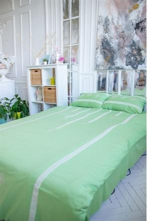 "Bed linen ""Waterfall green"""