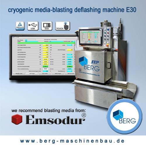 E30 kryogene Strahlentgratungsanlage