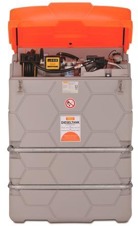 CUVE-STATION RAVITAILLEMENT GASOIL 1500 L / 230V -...
