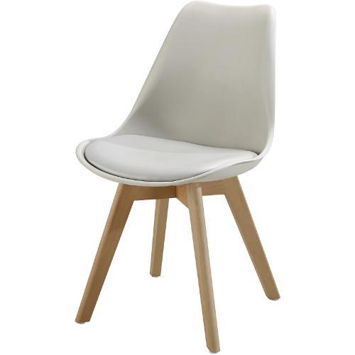 Chaise 16147gr - Bjorn Gris - Lot De 6