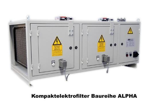 Kompaktelektrofilter Baureiche ALPHA