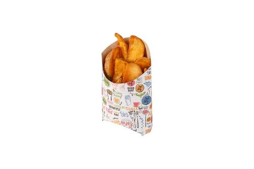 Packaging for French fries «Enjoy»