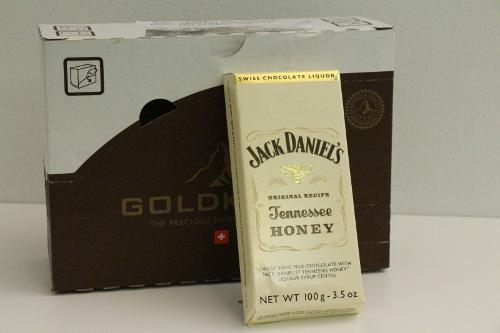 Goldkenn Swiss Milk Chocolate Filled With Jack Daniel