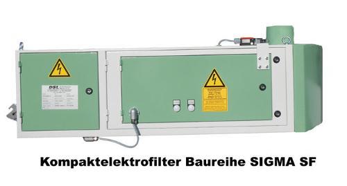 Kompaktelektrofilter Baureiche SIGMA SF