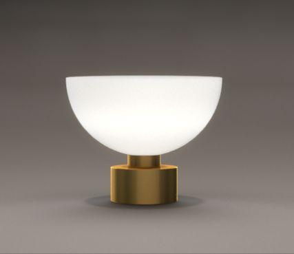 Bowl table lamps
