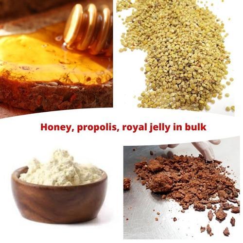 Honey Royal jelly Propolis Pollen in bulk