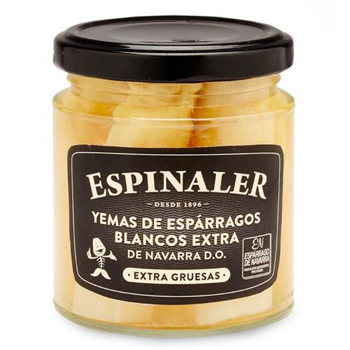 Navarra Thick Asparagus Tips 250g- Espinaler