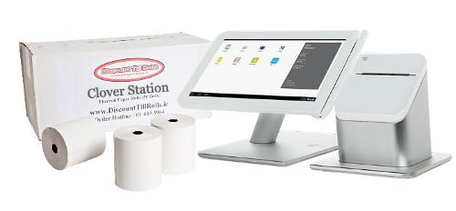 Clover Station Thermal Paper Rolls