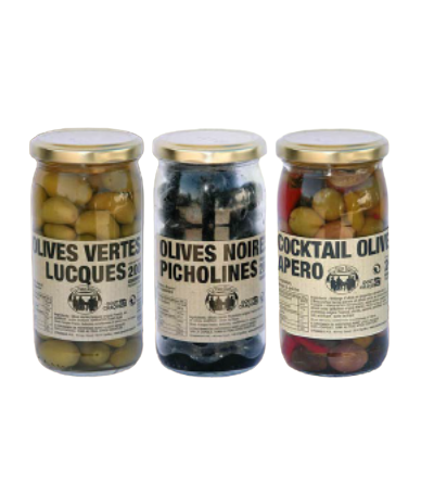Olives Noires - Pitcholines