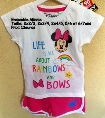 Ensemble Minnie Hello Disney