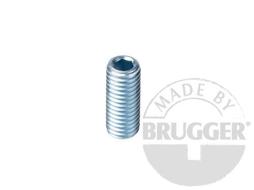 Flat pot magnets NdFeB, with external thread