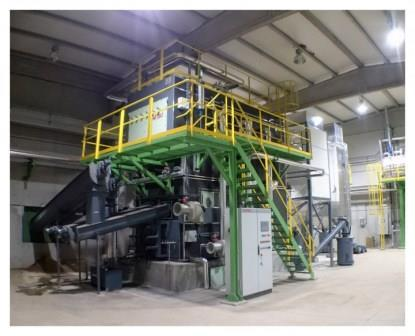ATTSU CSPM Biomass steam boiler