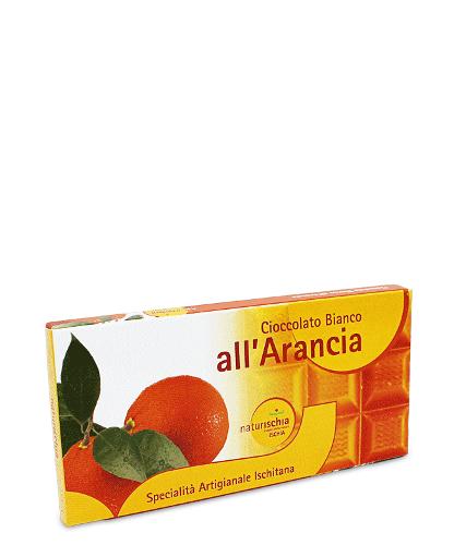 Tavoletta di cioccolato all'arancia