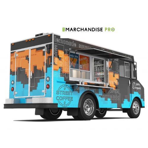 Food Truck Habillage Extérieur & Intérieur Food Cuisine