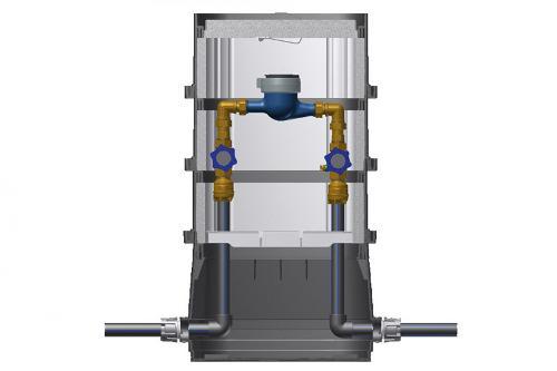 BEULCO water meter box 1,6m