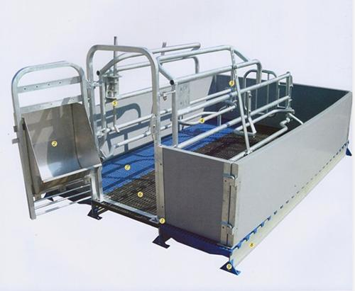 Pig/sow /piglet/piggery PVC farrowing crate/stall