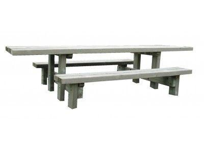 Table Pique Nique Rustique Pmr