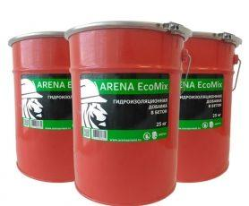 ARENA EcoMix WATERPROOFING ADDITIVE IN CONCRETE