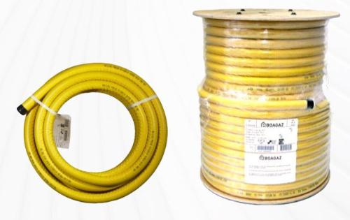 Corrugated pliable tubing PLT