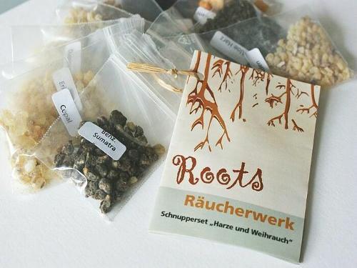 Schnupperset Harze & Weihrauch