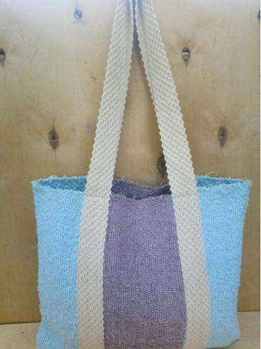 Handwoven tote cotton bag!