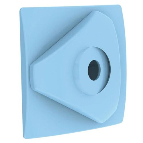 Boquilla azul de impulsión para piscinas