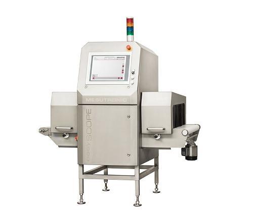 Fremdkörperdetektor zur Qualitätskontrolle von endverpackten